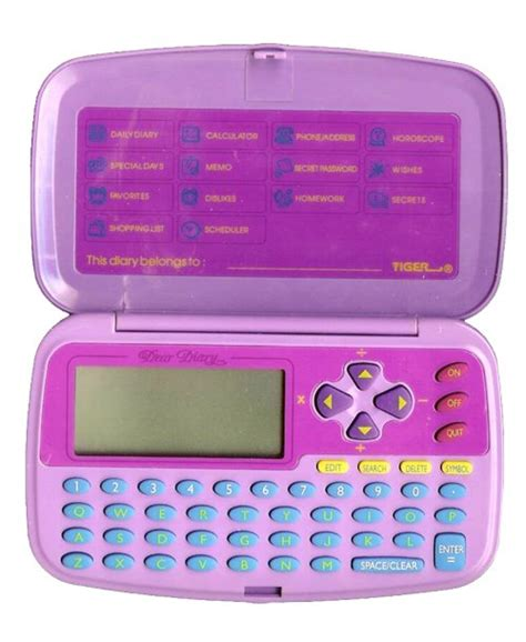 electronic gadgets diary of a mind best electronic toys in history dear diary 1990s