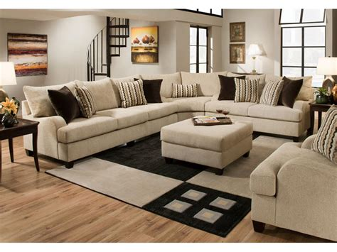 Simmons Upholstery Sectional by Simmons Upholstery Living Room 8520 Sectional Gallery