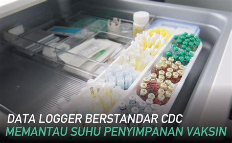 Termometer Vaksin alat pengukur suhu vaksin berstandar cdc