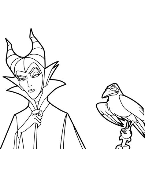 Kids N Fun Com 11 Coloring Pages Of Maleficent Maleficent Coloring Pages