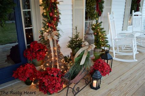 outdoor christmas decorations ideas porch elegant christmas decorating ideas for you