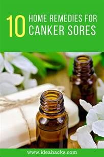 home remedy for canker sores 10 home remedies for healing canker sores naturally