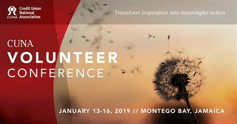 cuna leadership conference 2018 cuna 2019 volunteer conference to be held in jamaica