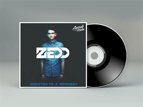 layout cd cover psd zedd mixtape cd cover free psd file tutorial by kadayoub