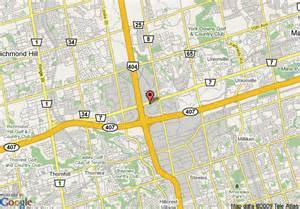 markham canada map map of delta markham markham