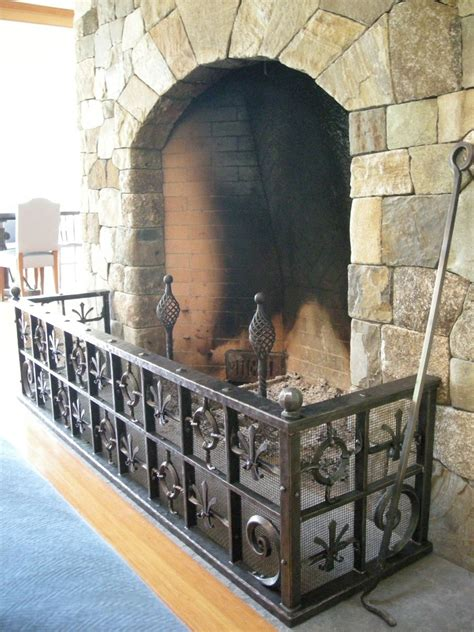 Fireplace Guard by Crafted World Style Fireplace Guard By Benjamin