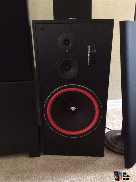 cerwin vega ls 15 floor standing speakers photo 948783
