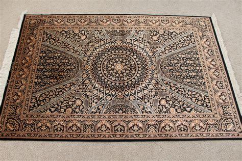 qum rug black gonbad qom rugs gombad silk qum carpets 3216