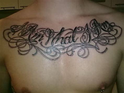 chest tattoos for men quotes chest tattoos for quotes