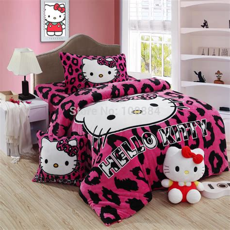 hello kitty queen size bedding hello kitty 4 piece toddler bedding set 4 hello hello