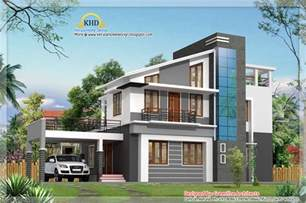modern villa house plans modern duplex villa elevation 1925 sq ft home appliance