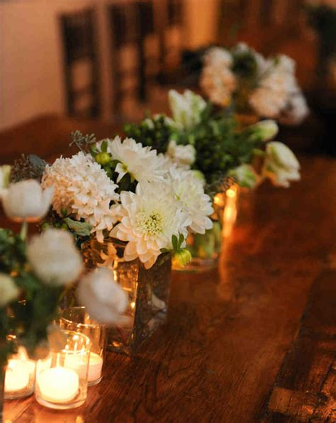 table arrangements dahlia wedding centerpieces martha stewart weddings