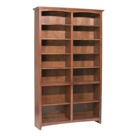 cherry wood bookcases for sale whittier wood mckenzie bookcase collection 48 quot wide