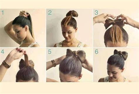 How To Do A Bow Hairstyle by The Hair Bow Bun Hair