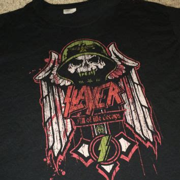 Slayer Rock Band Heavy Metal - best vintage heavy metal t shirts products on wanelo