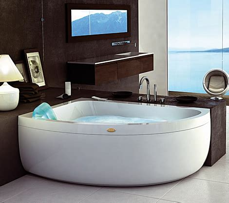 corner jacuzzi bathtub corner garden tub and whirlpool from jacuzzi
