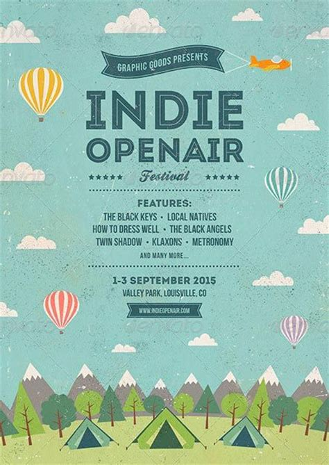 festival poster template free best 25 flyer and poster design ideas on