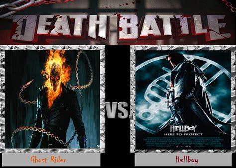 naruto hot wheels fanfiction death battle ghost rider vs hellboy by gatlinggundemon9 on