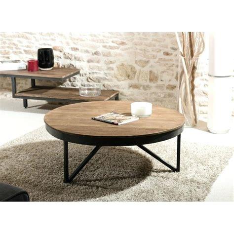 table basse bois et metal cildt org