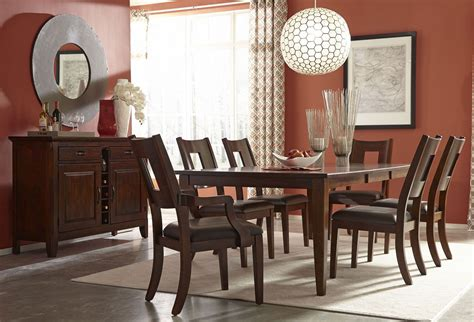 Chocolate Dining Room by Carturra Rich Chocolate Dining Room Set 845 096