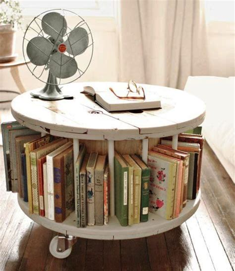 shabby chic coffee table bookshelf vintage