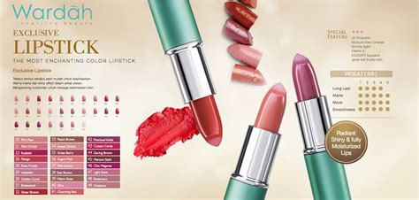 Harga Wardah Exclusive Series Lipstick by Jual Wardah Exclusive Lipstick Exclusive Series Cosme