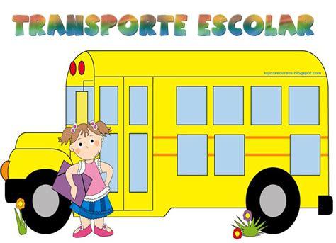imagenes transporte escolar caricaturas piruleta colorines cartel para los ni 209 os que van en