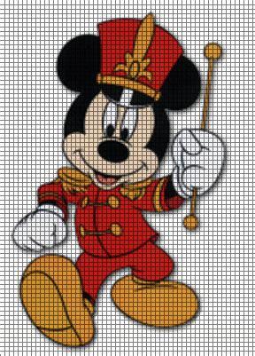 leader pattern mickey mouse band leader crochet pattern disney