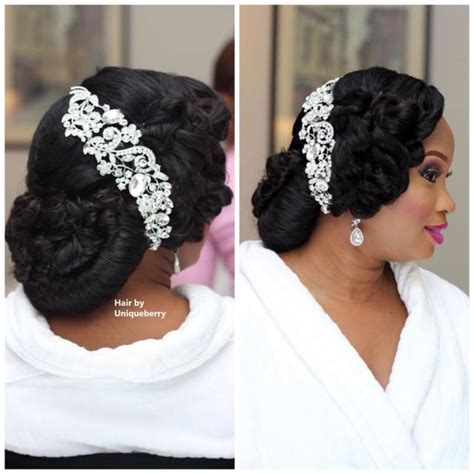 zubby bridal hairdo in lagos nigeria my wedding nigeria bridal hair inspiration weddbook