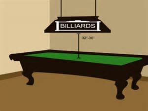 pin pool table lights by toltec billiard lighting venecia