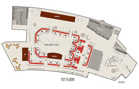 nightclub floor plans haze nightclub exploring las vegas