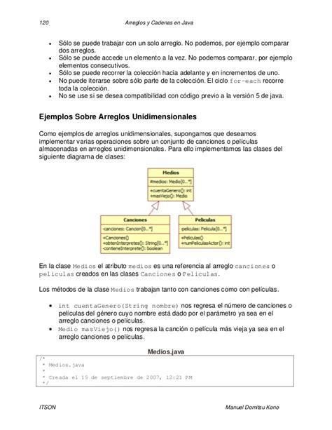 arreglos y cadenas en java tema 5 arreglos y cadenas por gio