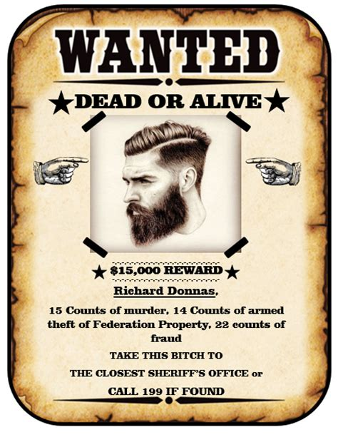 Word Vorlage Wanted 13 Free Wanted Poster Templates Printable Docs
