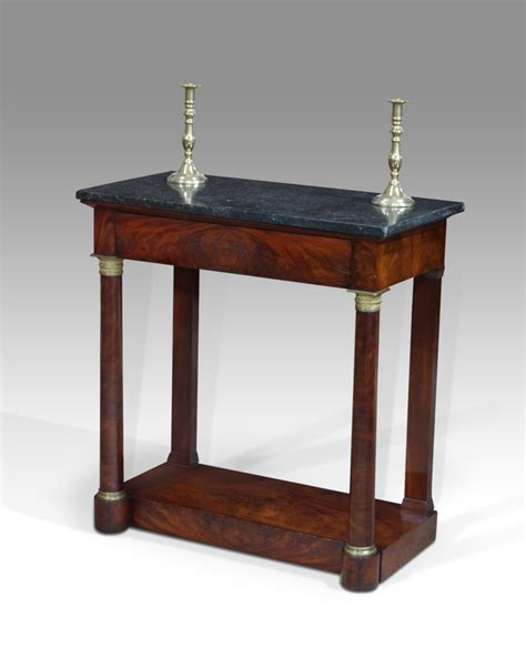 small marble top table antique console table small georgian console table