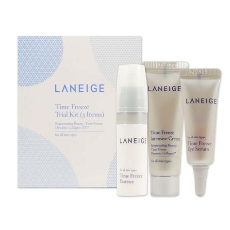 etop brand laneige time freeze trial kit 3 items