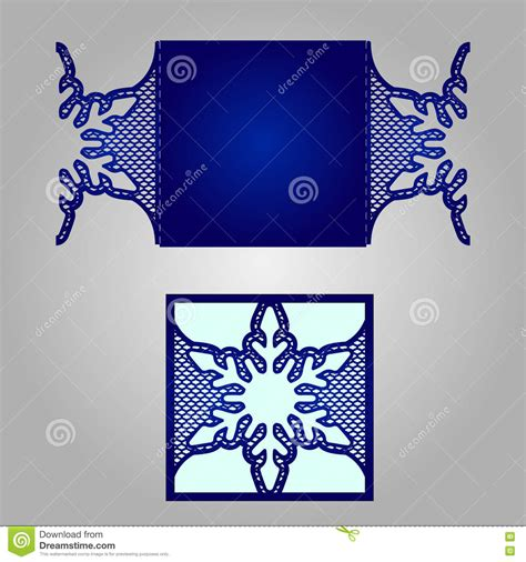 Laser Cut Wedding Invitation Template Stock Vector Image 78861351 Laser Cut L Template