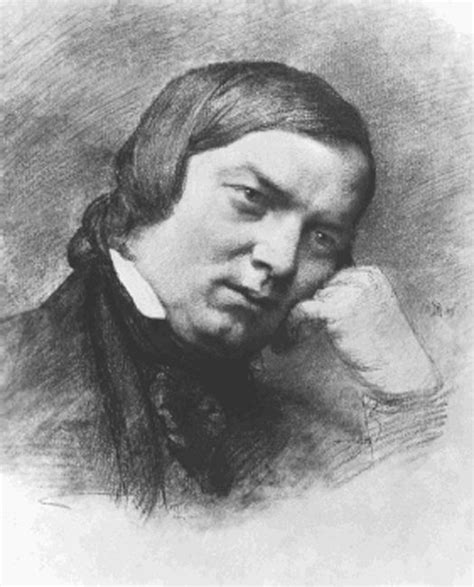 Schumann 4 Sketches by Robert Schumann 1810 1856 Charcoal Drawing 1859 By