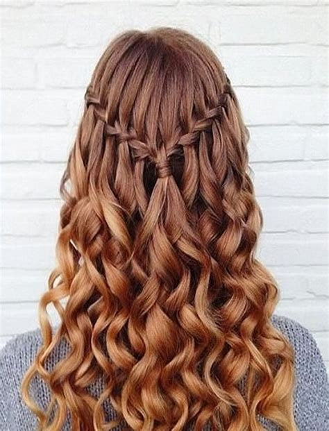 Waterfall Braid Hairstyles by 100 Chic Waterfall Braid Hairstyles How To Step By Step