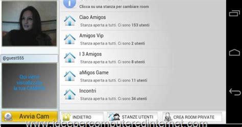 chat mobile italiana ciao amigos videochat italiana per pc android e iphone