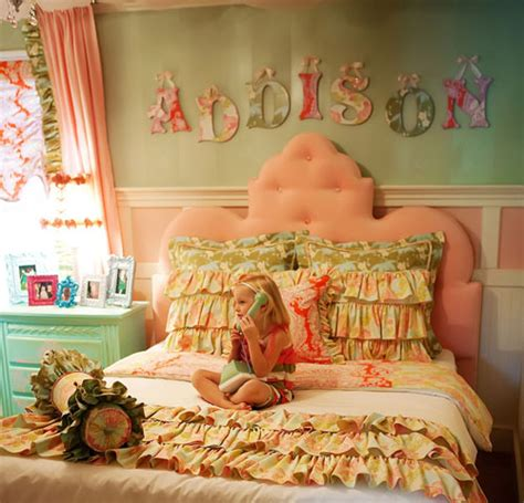 kids bedroom fairy tale design