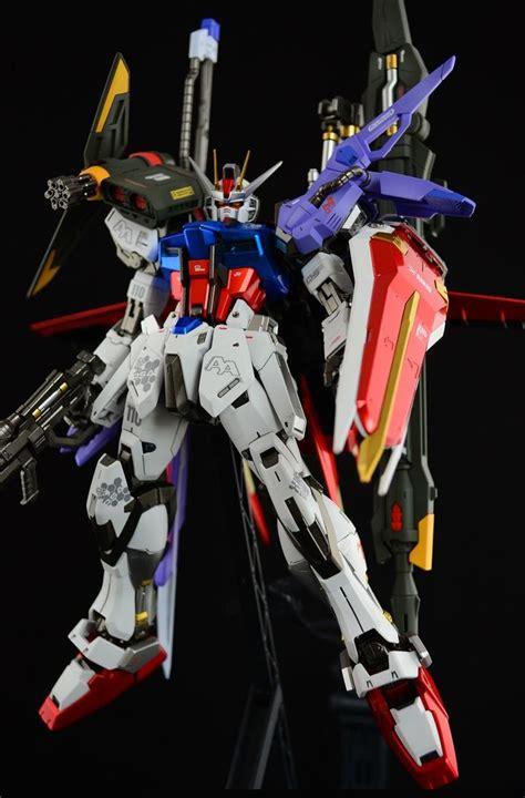 wallpaper gundam toys mg 1 100 gat x105 perfect strike gundam work by