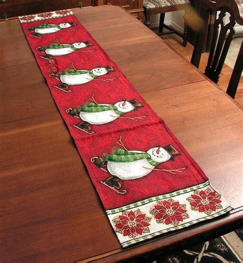 christmas table runner for kids christmas table runner
