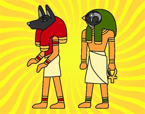 imagenes egipcias para niños dibujo de estatuas pintado por lenka en dibujos net el d 237 a