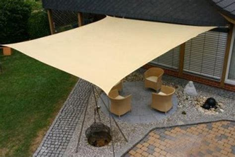garden sail awning maribelle 5 0m square sun sail shade garden patio canopy with ropes fittings ebay