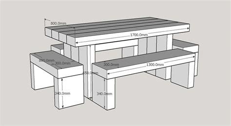 Railway Sleeper Garden Table by Garden Tables Buy Douglas Fir Refectory Table And