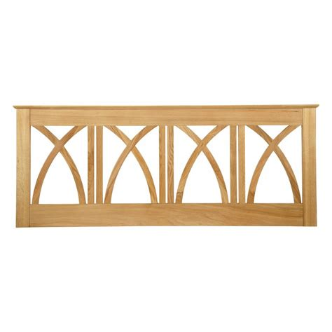 wooden headboards uk serene furnishings maiden american oak wooden headboard