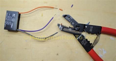 how to put capacitor in ceiling fan how to replace a ceiling fan motor capacitor