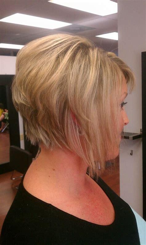 side views of short graduated bobs pin by sylvia sanchez on short hair styles beautiful grey