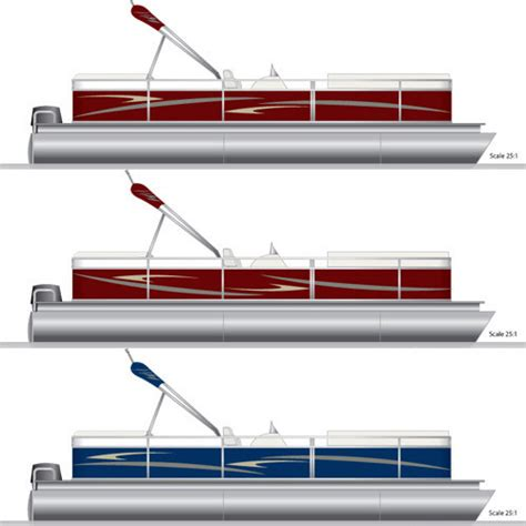 boat cover decals parts accessories pontoon graphics decal kit