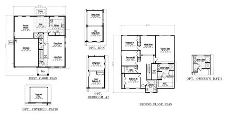 floor plan model sereno davenport summit model by dr horton new build homes